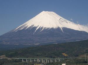 富士山_白