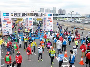 東京マラソン_ゴール